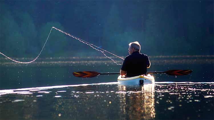 Guided Kayak Fishing