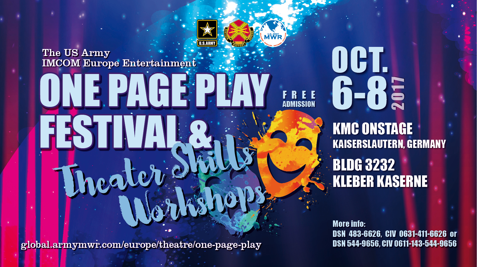 Festival and Theatre Skills Workshops