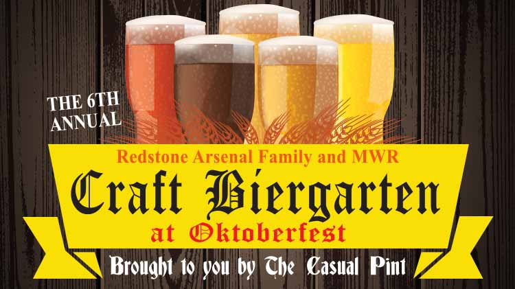 6th Annual Craft Biergarten at Oktoberfest