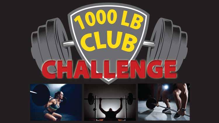 1000 LB Club Challenge