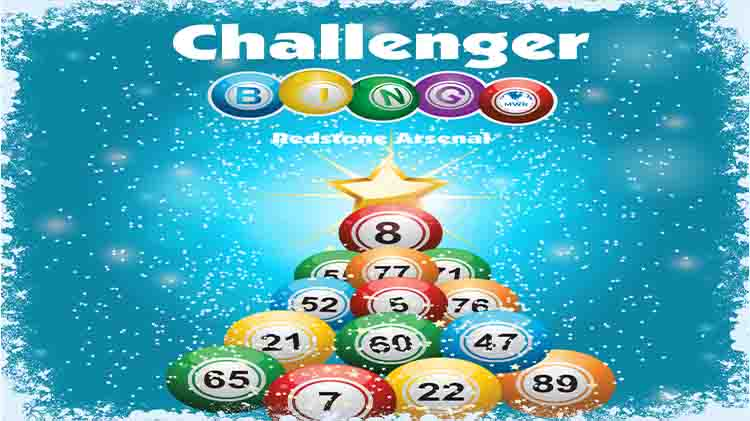 Challenger Bingo Christmas Celebration
